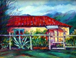 Casa Campesina Painting