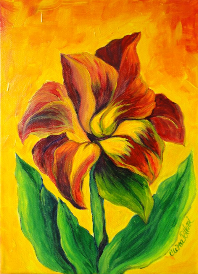 Flower-Red Lily