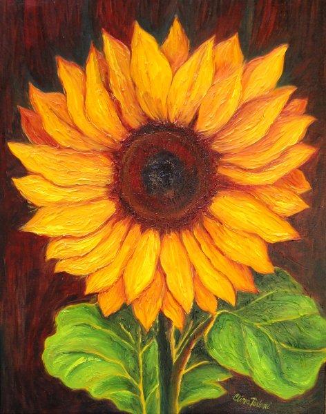 Kansas Sunflower Painting