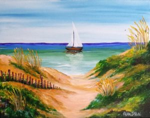 Sand Dunes Painting Class