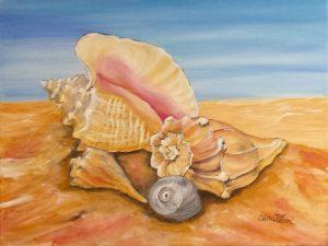 Sea Shells Painting Class