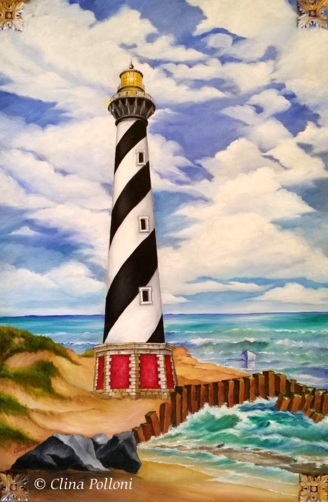 Cape Hatteras Lighthouse Painting NC