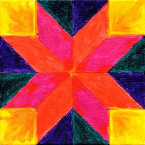 Miniature Quilt Block 4