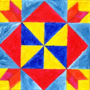 Miniature Quilt Block 6