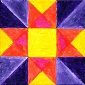 Miniature Quilt Block 7