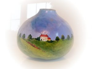 NC landscape in the 1800s Gourd