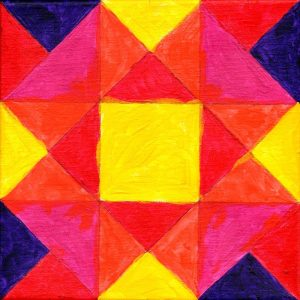 Miniature Quilt Block 1