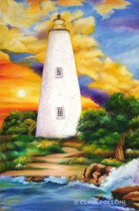 Ocracoke Island Lighthouse NC