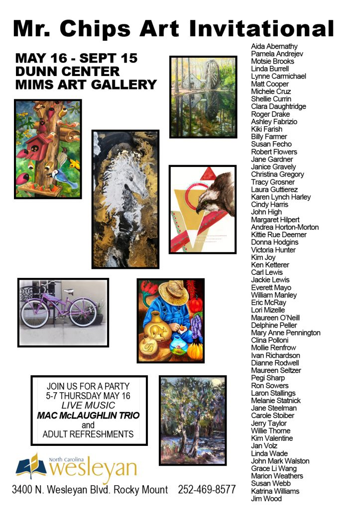 2019 May Mims Gallery Exhibition