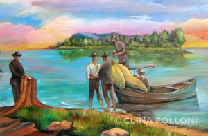 The Fishermen Painting
