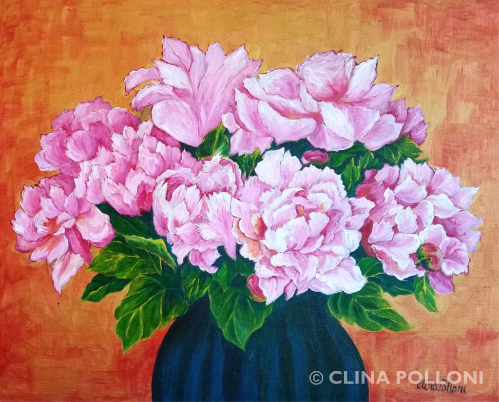 Rose Color Peonies