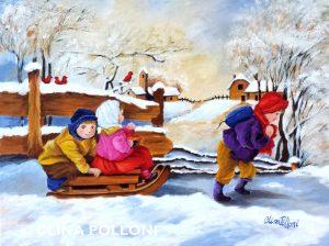 Children Sleigh Ride