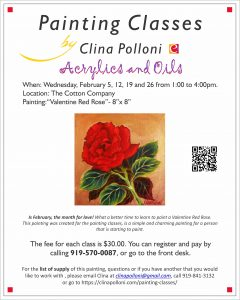 2020 February-Painting Classes