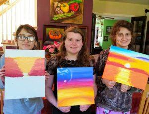 2020 Coronavirus Painting Class April 4