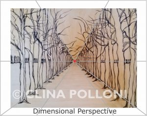 Dimensional Perspective Drawing