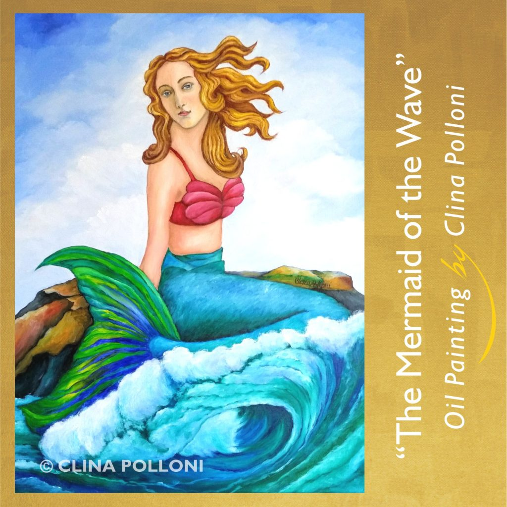 The Mermaid of the Wave Painting