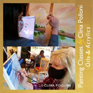 Painting Classes 2021-Oils Acrylics