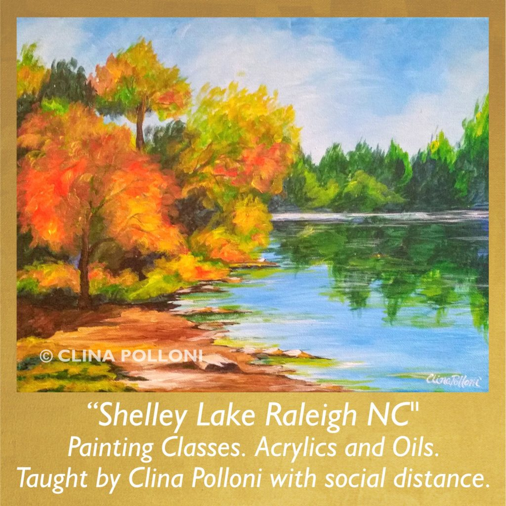 Painting Class-Shelley Lake Raleigh NC